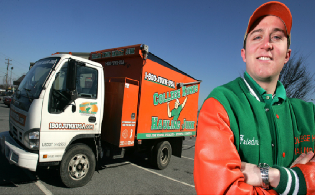 Nick Friedman Co-Founder of College Hunks Hauling Junk