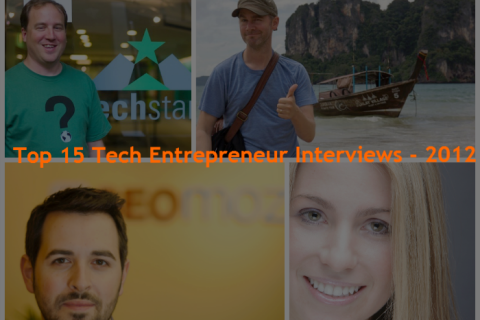 Top 15 Tech Entrepreneur Interviews from 2012 on BillionSuccess
