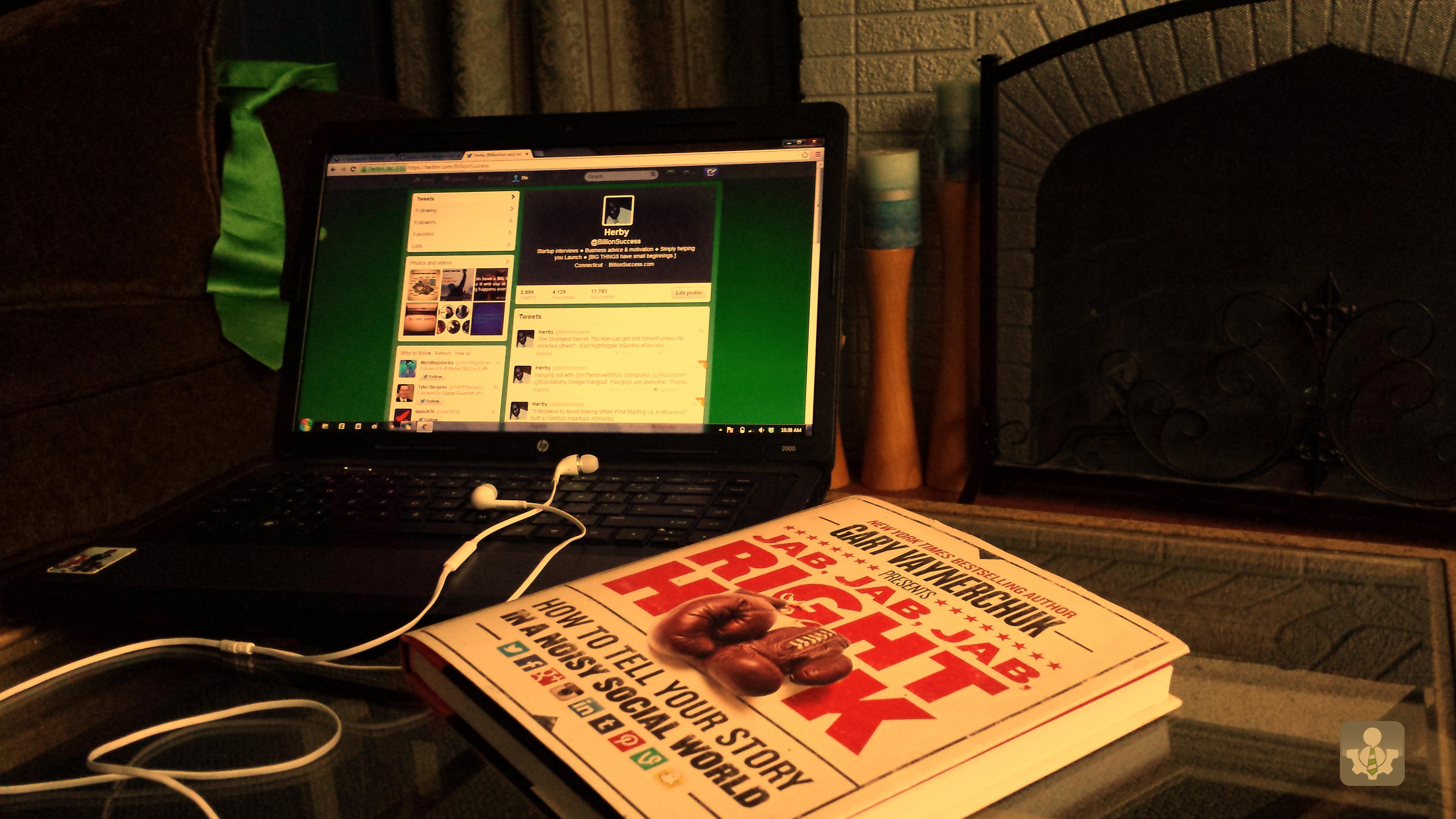 @herbyfabius 3 Lessons Learned from Meeting Gary Vaynerchuk (@GaryVee) at @ThePhatStartup
