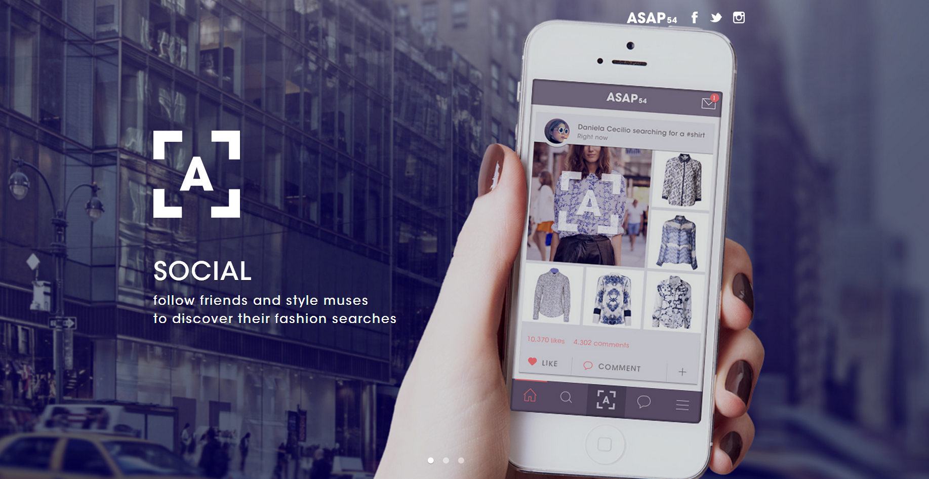 ASAP54: A New Way to Discover & Shop Online