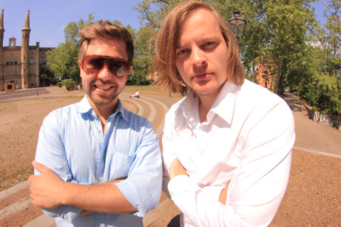 Axel & Boris founders of Dreamojo: Fund Your Dreams, Together