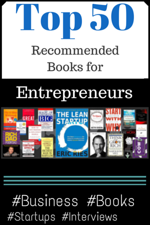 Top 50 Best Business Books for Startup Founders