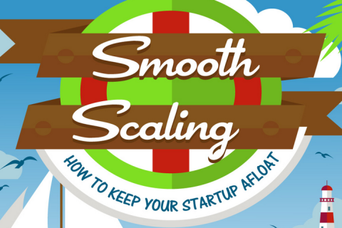 Smooth Scaling: How to Keep Your Startup Afloat [Infographic]