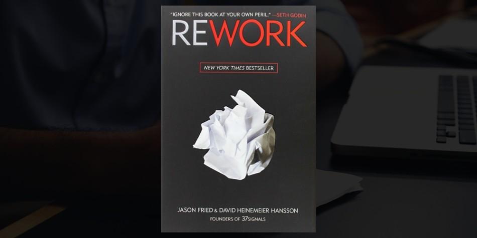 Rework entrepreneurs book