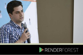 Roman Daneghyan of Renderforest