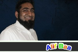 Javed Hussain founder of Alif Baa_ learn the Arabic alphabet