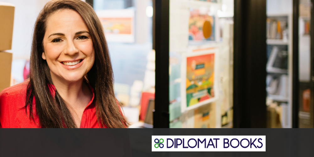 Diplomat Books 1 - Robin Barone: CEO, Founder and Author at Diplomat Books Teaches Children About the World