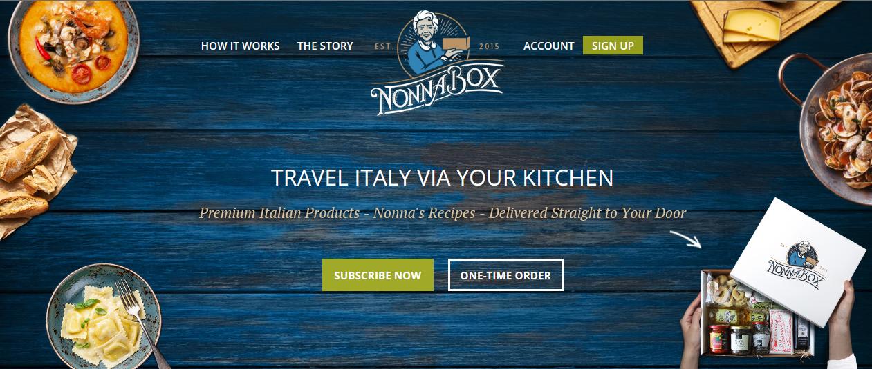 Nonna box Cover