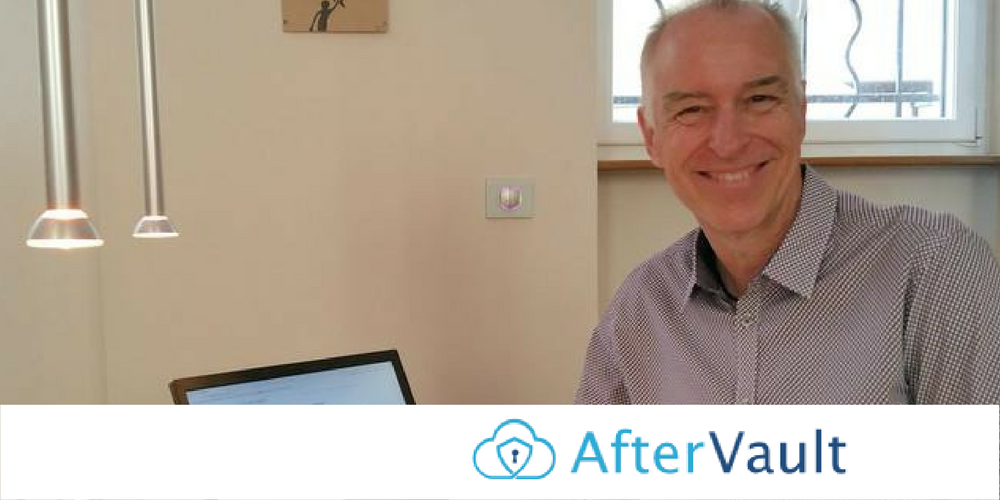 AfterVault Startup - Richard Parks of AfterVault: Security and Peace of Mind for You and Your Family